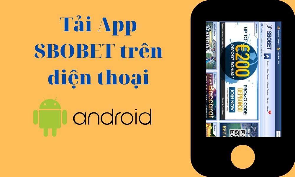 Cài app SBOBET trên Android