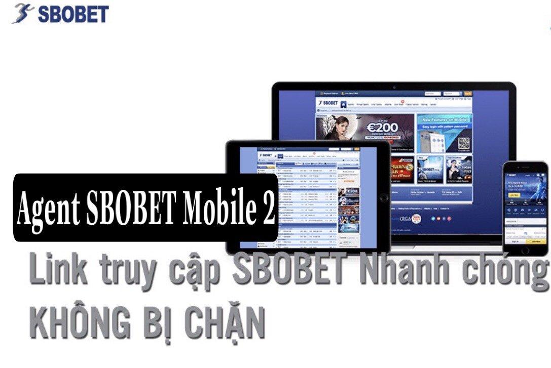 Link SBOBET Mobile 2 dành cho Agent